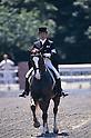 Hiroshi Hoketsu,.JUNE 5, 1988 - Equestrian : Hiroshi Hoketsu in action during the Equestrian competition at the Seoul Olympic qualifying selection in Japan..(Photo by Shinichi Yamada/AFLO) [0348]