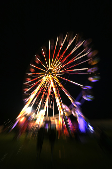 The Big wheel at Night, Isle of Wight festival