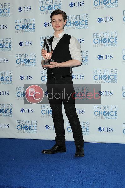 Chris Colfer<br /> at the 2011 People's Choice Awards - Press Room, Nokia Theatre, Los Angeles, CA. 01-05-11<br /> David Edwards/DailyCeleb.com 818-249-4998