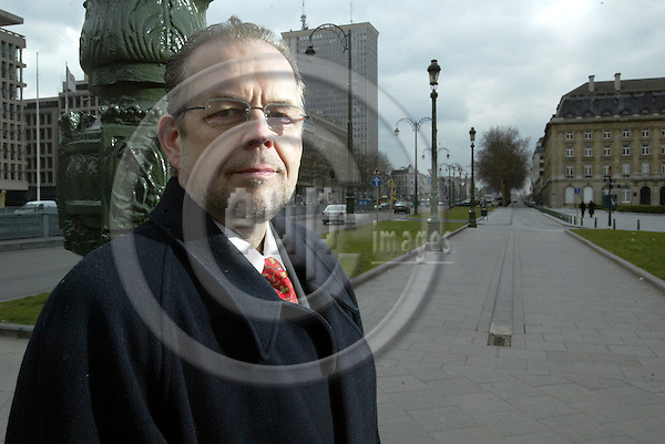 BRUSSELS - BELGIUM - 09 MARCH 2004 -- Pentti KOTIRANTA, Head of Project Advisory Services at FINPRO (Finnish Business Solution). -- PHOTO: JUHA ROININEN / EUP-IMAGES
