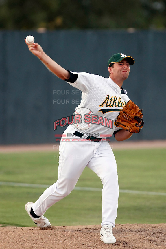 Robert Gilliam ---  AZL Athletics - 2009 Arizona League.Photo by:  Bill Mitchell/Four Seam Images.