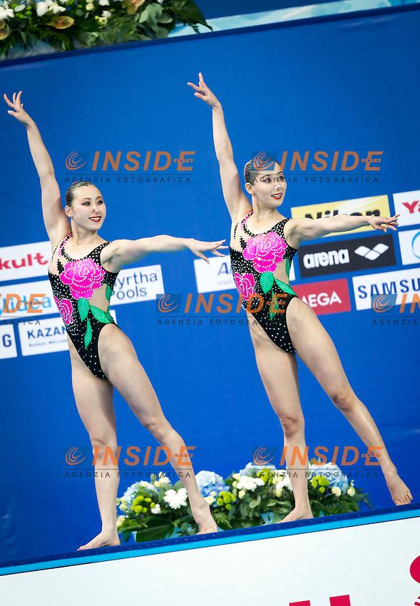 PRK Democartic People's Republic of Korea<br /> KANG Un Ha PRK<br /> KIM Un A PRK<br /> Duet Technical Preliminary<br /> Day3 26/07/2015<br /> XVI FINA World Championships Aquatics<br /> Synchro<br /> Kazan Tatarstan RUS July 24 - Aug. 9 2015 <br /> Photo Pasquale Mesiano/Deepbluemedia/Insidefoto