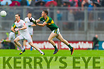 Jonathan Lyne, Kerry in Action Against  Tyrone in the All Ireland Semi Final at Croke Park on Sunday.