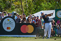 Patrick Reed (USA) watches his tee shot on 7 during round 1 of the Arnold Palmer Invitational at Bay Hill Golf Club, Bay Hill, Florida. 3/7/2019.<br /> Picture: Golffile | Ken Murray<br /> <br /> <br /> All photo usage must carry mandatory copyright credit (&copy; Golffile | Ken Murray)