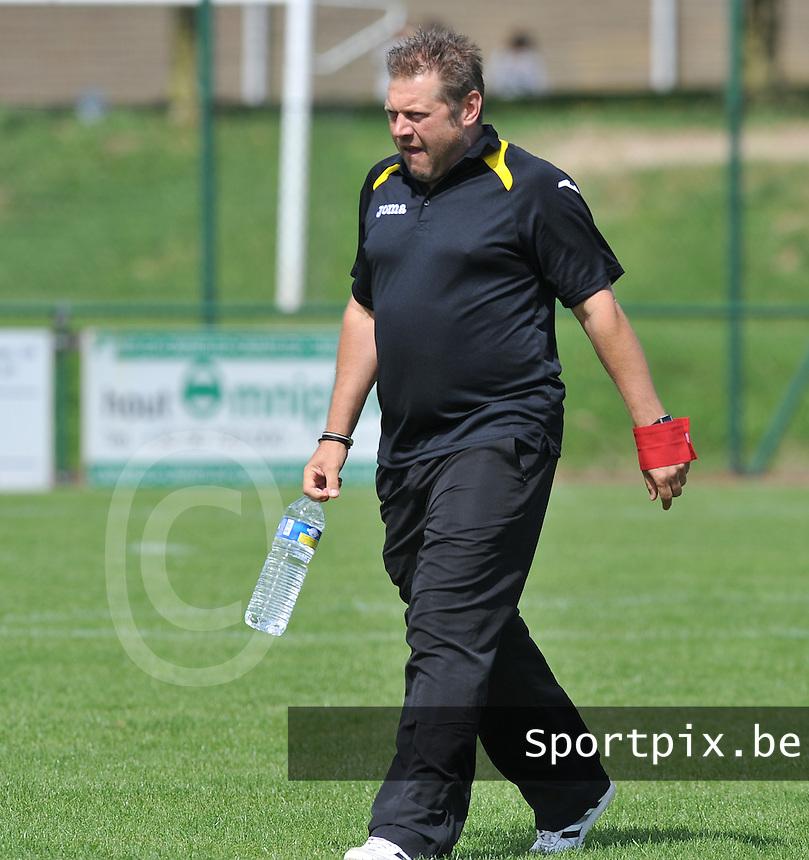 SC Menen : Pascal Verriest.foto VDB / BART VANDENBROUCKE