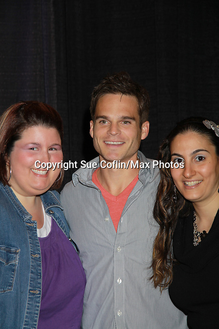 """The Young & The Restless star Greg Rikaart appears at the Genoa City Conversations (Q&A) which was held on 3/24 at the Soap Opera Festivals Weekend - """"All About The Drama"""" on March 24, 2012 at Bally's Atlantic City, Atlantic City, New Jersey. (Photo by Sue Coflin/Max Photos)"""