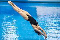 Inge Jansen NED<br /> 3m Springboard Women preliminary<br /> Day 06 14/06/2015  <br /> 2015 Arena European Diving Championships<br /> Neptun Schwimmhalle<br /> Rostock Germany 09-14 June 2015 <br /> Photo Giorgio Perottino/Deepbluemedia/Insidefoto
