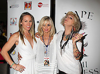Christy Oldham, Cathy St. George, Lulu Danger<br /> at the 'DemiGoddess Vape' Celebrity Lounge hosted by PhotoMundo Publishing, Westin Los Angeles Airport Hotel, Los Angeles, CA 07-09-16
