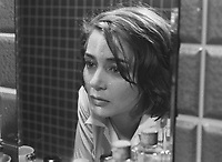 Hiroshima Mon Amour (1959) <br /> Emmanuelle Riva<br /> *Filmstill - Editorial Use Only*<br /> CAP/KFS<br /> Image supplied by Capital Pictures