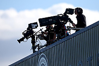 Live TV coverage during Arsenal Women vs West Ham United Women, Barclays FA Women's Super League Football at Meadow Park on 8th September 2019