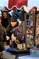Hugh Grant shopping in a London Market where he bought a cocktail shaker on December 03, 2017<br /> CAP/IVH<br /> &copy;Ivan Harris/Capital Pictures /MediaPunch ***NORTH AND SOUTH AMERICAS ONLY***