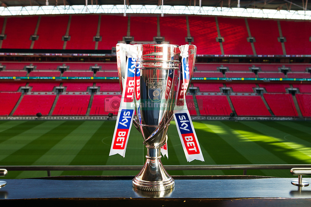 Play Off Finals Trophy Shoot - Wembley Stadium | RealTime Images