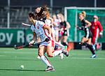 AMSTELVEEN - Marlena Rybacha (OR)    tijdens de hoofdklasse competitiewedstrijd hockey dames,  Amsterdam-Oranje Rood (5-2). COPYRIGHT KOEN SUYK