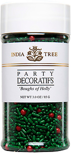 10615 Boughs of Holly, Small Jar 3 oz, India Tree Storefront
