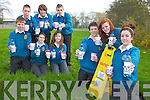 FLUORIDE FIGHTERS: As part of the young social innovator program, a national youth.competition TY's from mercy Mounthawk are voicing their concerns about the potential dangers in water. Front l-r were: Joe O'Kelly, Lauren Flynn and Lauren Walsh. Back l-r were: Michael O'Brien, eimear Neenan, Rebecca O'Sullivan, Ryan McGovern, Niall Carrollcane and Sean Harrington.