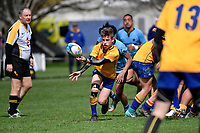 Hurricanes U15 Rugby Plate Final - FDMC v Kings High School at St Patrick's Silverstream, Upper Hutt, New Zealand on Saturday 8 September 2018.<br /> Photo by Masanori Udagawa. <br /> www.photowellington.photoshelter.com