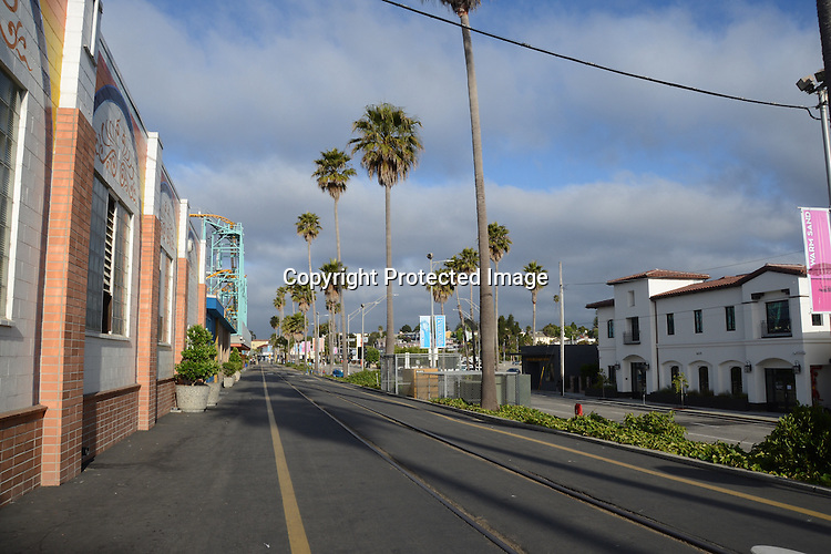 Early morning at Santa Cruz California