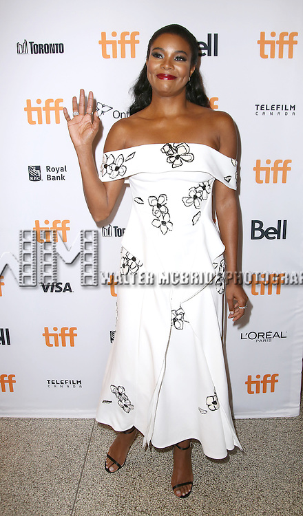 Gabrielle Union attends the 'The Birth of a Nation' Red Carpet Premiere during the 2016 Toronto International Film Festival premiere at Princess of Wales Theatre on September 9, 2016 in Toronto, Canada.