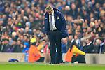 Manuel Pellegrini, manager of Manchester City looks glum - Manchester City vs. CSKA Moscow - UEFA Champions League - Etihad Stadium - Manchester - 05/11/2014 Pic Philip Oldham/Sportimage