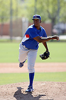 Rogelino Carmona, Chicago Cubs 2010 minor league spring training..Photo by:  Bill Mitchell/Four Seam Images.