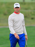 Haydn Porteous (RSA) on the 9th green during Round 2 of the D+D Real Czech Masters at the Albatross Golf Resort, Prague, Czech Rep. 02/09/2017<br /> Picture: Golffile | Thos Caffrey<br /> <br /> <br /> All photo usage must carry mandatory copyright credit     (&copy; Golffile | Thos Caffrey)
