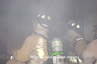 63818-019.18 Firefighters inside burning house, Marion Co. IL