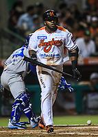 Jason Bourgeios, durante la apertura de la temporada de beisbol de la Liga Mexicana del Pacifico 2017 2018 con el partido entre Naranjeros vs Yaquis. 11 octubre2017 . <br /> (Foto: Luis Gutierrez /NortePhoto.com)