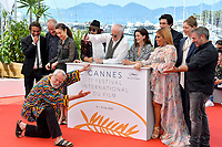 """Terry Gilliam & cast at the photocall for """"The Man Who Killed Don Quixote"""" at the 71st Festival de Cannes, Cannes, France 19 May 2018<br /> Picture: Paul Smith/Featureflash/SilverHub 0208 004 5359 sales@silverhubmedia.com"""