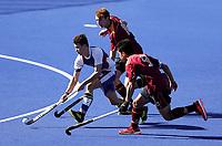 Kings College v Southland Boys. Rankin Cup and India Shield 2019 Secondary School Hockey Tournament, Nga Puna Wai Sports Hub, Christchurch, Monday 02 September 2019. Photo: Martin Hunter/Hockey NZ