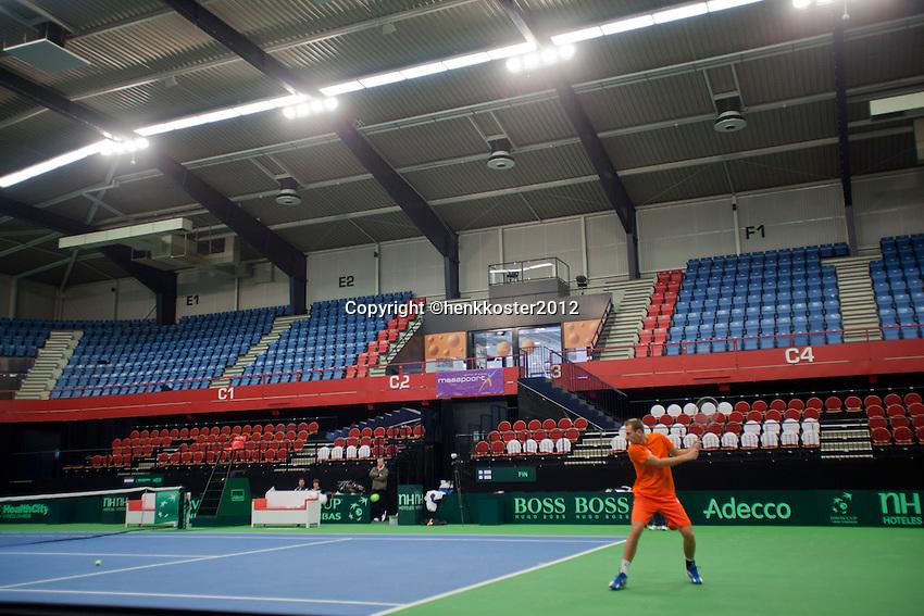 07-02-12, Netherlands,Tennis, Den Bosch, Daviscup Netherlands-Finland, Business seats