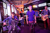 NEW YORK, NY - AUGUST 9: OneRepublic Concert Performance at MLB Fan Cave in New York City. August 9, 2012  © Laura Trevino/Media Punch Inc.