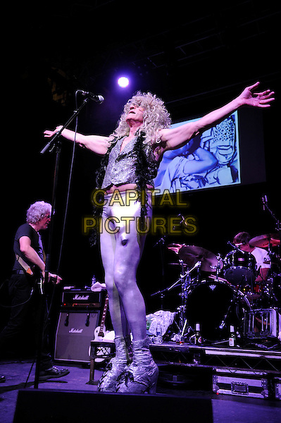 LONDON, ENGLAND - AUGUST 7: Fee Waybill of 'The Tubes' performing at Clapham Grand on August 7, 2015 in London, England.<br /> CAP/MAR<br /> &copy; Martin Harris/Capital Pictures