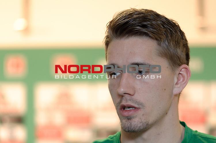 11.02.2014, Weserstadion, Bremen, GER, 1.FBL, Werder Bremen Nils Petersen, im Bild Nils Petersen (Bremen #24)<br /> <br /> Foto &copy; nordphoto / Frisch