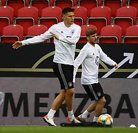 Niklas Süle (Deutschland Germany), Timo Werner (Deutschland Germany) - 10.06.2019: Abschlusstraining der Deutschen Nationalmannschaft vor dem EM-Qualifikationsspiel gegen Estland, Opel Arena Mainz