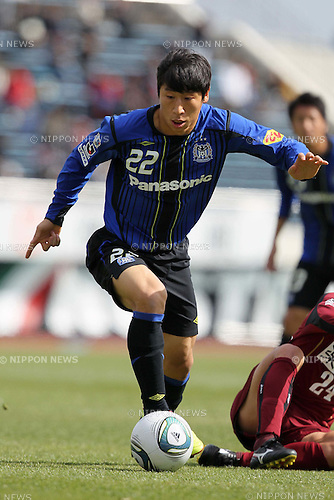 LEE Keun Ho (Gamba), MARCH 27, 2011 - Football : 2011 J.League Charity match for victim of Northeastern Pacific Ocean earthquake between Gamba Osaka 2-2 Vissel Kobe at Expo 70 Stadium, in Osaka, Japan. (Photo by Akihiro Sugimoto/AFLO SPORT) [1080]