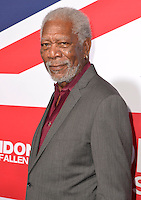 "01 March 2016 - Hollywood, California - Morgan Freeman. ""London Has Fallen"" Los Angeles Premiere held at ArcLight Cinemas Cinerama Dome. Photo Credit: Koi Sojer/AdMedia"