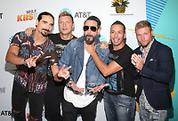 LOS ANGELES, CA - JUNE 2: Backstreet Boys at iHeartRadio Wango Tango by AT&amp;T at Banc of California Stadium in Los Angeles, California on June 2, 2018. <br /> CAP/MPI/FS<br /> &copy;FS/MPI/Capital Pictures