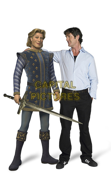 PRINCE CHARMING (RUPERT EVERETT).in Shrek the Third.3 .**Editorial Use Only**.CAP/FB.Supplied by Capital Pictures