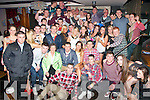 Brendan O'Neill, Ballyard, Tralee (seated centre) had great craic celebrating his 21st birthday in the Abbey Inn, Tralee last Saturday night with many friends and family.