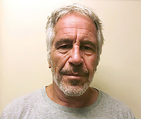 Financier Jeffrey Epstein has been found dead on 10 August 2019 in his prison cell in New York while awaiting trial on sex trafficking charges. Epstein, 66, had pleaded not guilty to sex trafficking and conspiracy charges and was being held without bail.<br /> CAP/MPI/PLF<br /> Image supplied by Capital Pictures / MediaPunch