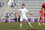Orlando, Florida - Wednesday January 17, 2018: Pol Calvet Planellas. Match Day 3 of the 2018 adidas MLS Player Combine was held Orlando City Stadium.
