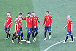 01/07/2018, FIFA World Cup Football Russia 2018, Luzhniki Stadium, Moscow, Russia; Round of 16 Football match between Spain and Russia; Penalty Shootout games; Koke