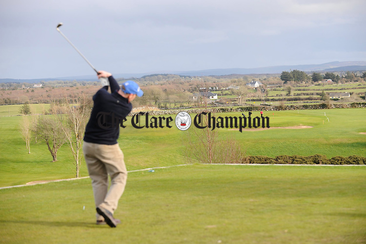 The view from the first tee at Gort Golfg Club. Photograph by John Kelly.