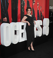 NEW YORK, NY - June 5: Hleena Bonham Carter attends 'Ocean's 8' World Premiere at Alice Tully Hall on June 5, 2018 in New York City. <br /> CAP/MPI/JP<br /> &copy;JP/MPI/Capital Pictures