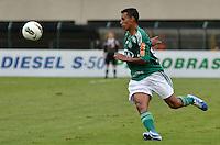 ATENÇÃO EDITOR: FOTO EMBARGADA PARA VEÍCULOS INTERNACIONAIS - SÃO PAULO, SP, 25 DE NOVEMBRO DE 2012 - CAMPEONATO BRASILEIRO - PALMEIRAS x ATLETICO GOIANIENSE: Juninho durante partida Palmeiras x Atletico Goianiense, válida pela 37ª rodada do Campeonato Brasileiro no Estádio do Pacaembú. FOTO: LEVI BIANCO - BRAZIL PHOTO PRESS