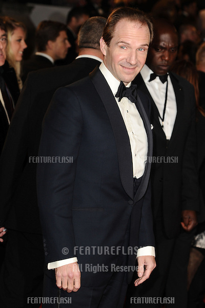 Ralph Fiennes arriving for the Royal World Premiere of 'Skyfall' at Royal Albert Hall, London. 23/10/2012 Picture by: Steve Vas / Featureflash