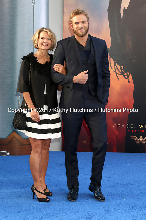 "LOS ANGELES - MAY 25:  Karla Lutz, Kellan Lutz at the ""Wonder Woman"" Los Angeles Premiere at the Pantages Theater on May 25, 2017 in Los Angeles, CA"