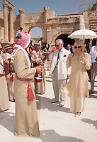 Prince Charles and Camilla in Jordan on regional tour