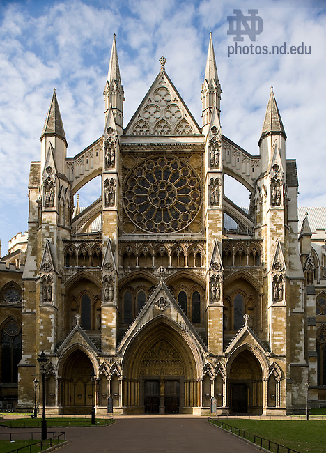 Westminster Abbey, London..Photo by Matt Cashore/University of Notre Dame