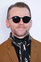 "Simon Pegg<br /> arriving for the premiere of ""The Kiid who would be King"" at the Odeon Luxe cinema, Leicester Square, London<br /> <br /> ©Ash Knotek  D3476  03/02/2019"